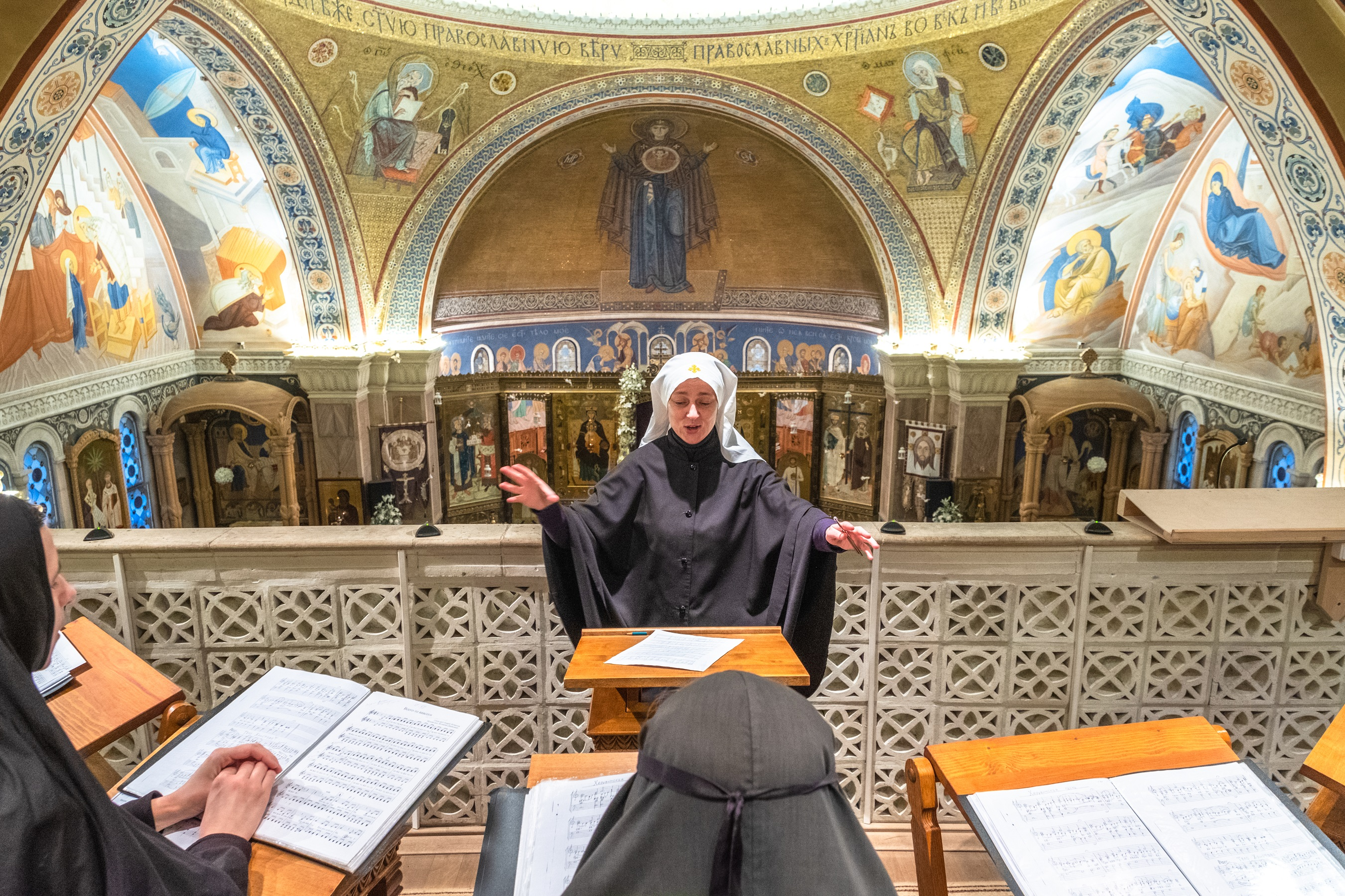 Monastic choir