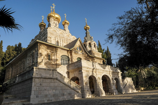 Convent of Saint Mary Magdalene in the Garden of Gethsemane