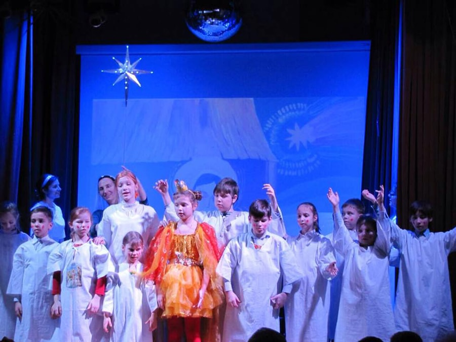 Children's theatrical studio: let the joy live on!