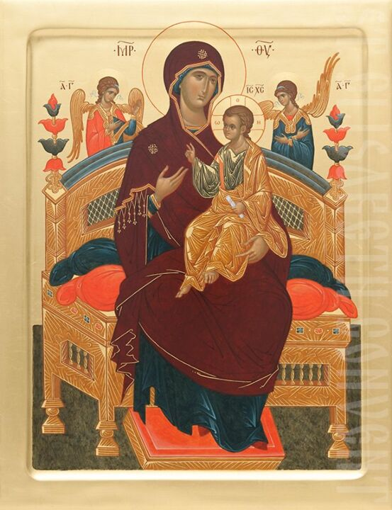 icon mother of god the pantanassa