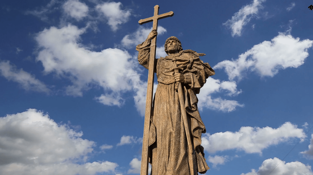 monument of saint vladimir the great