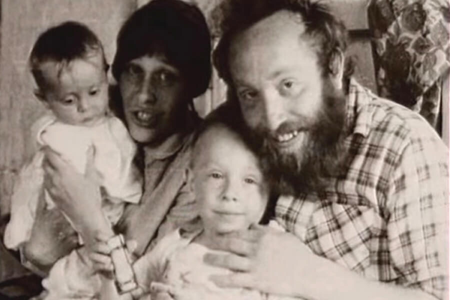 Yury Norstein with family