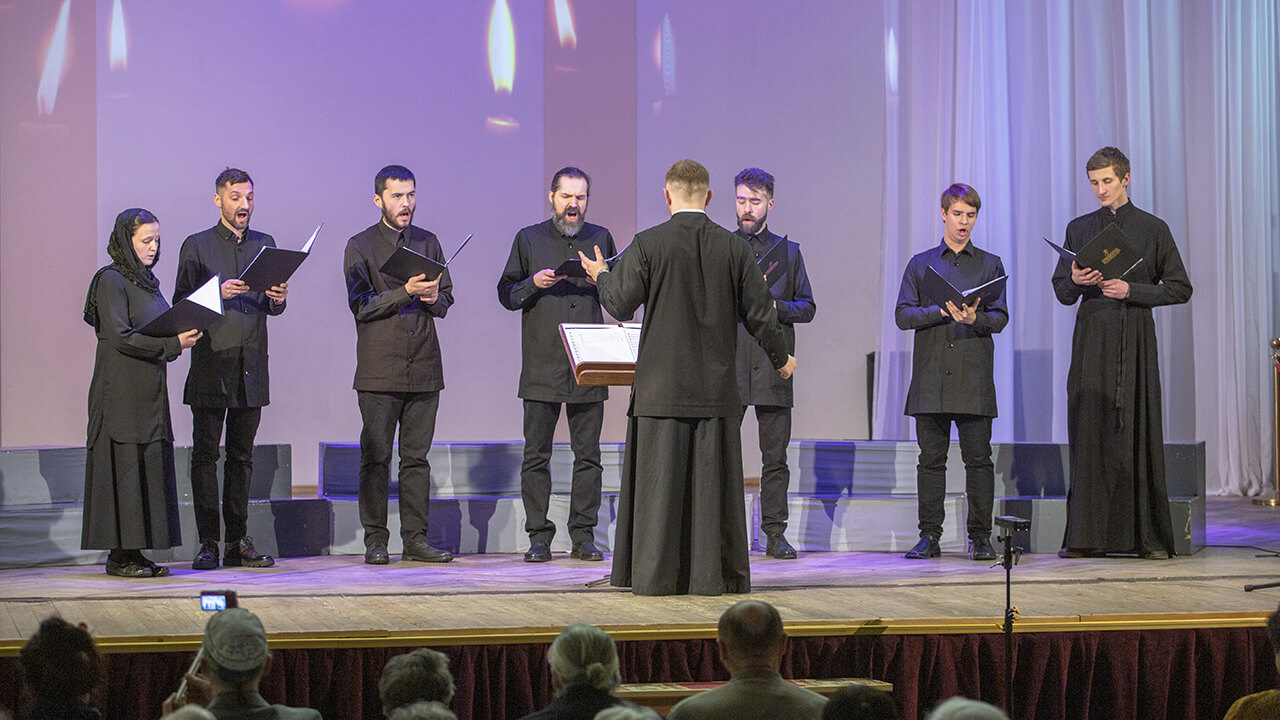 male choir of the convent