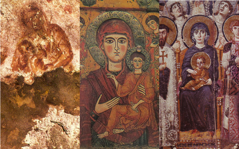 ancient icons of the Virgin Mary