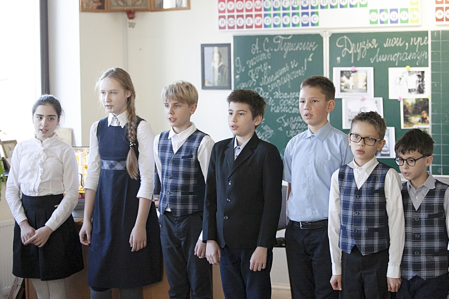 Russian literature week at the Ichthys school