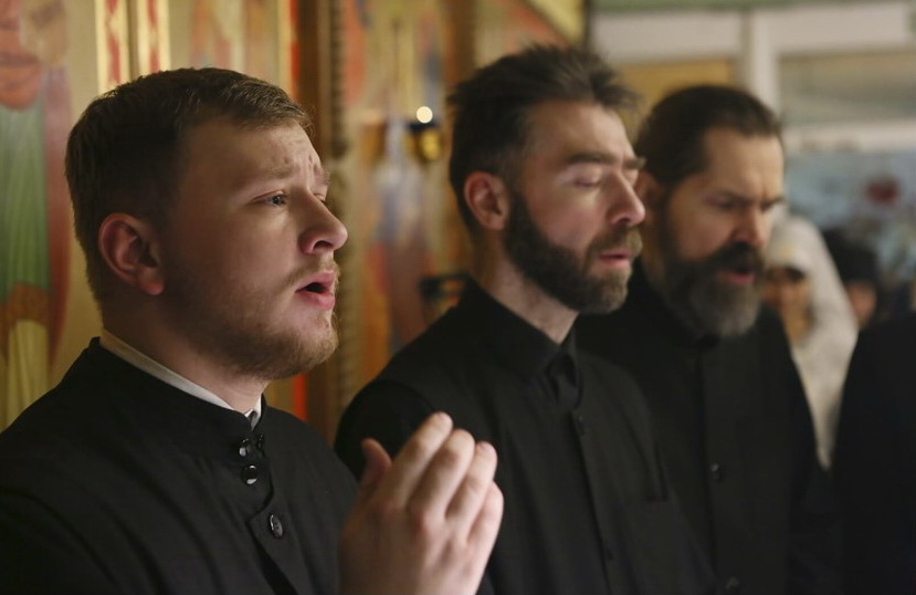 The Male Choir of St Elisabeth Convent
