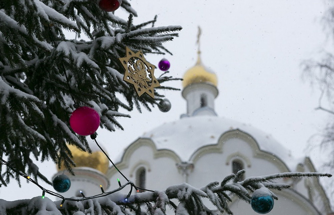How do the Orthodox celebrate New Year?