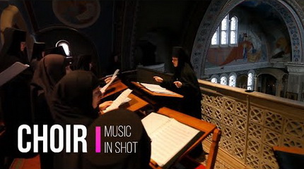 God Is With Us by The Monastic Choir