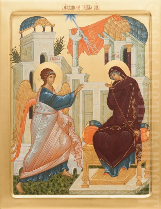 Icon of the Annunciation of the Mother of God